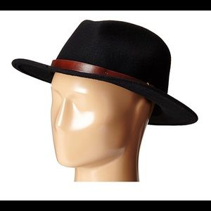 Brixton Black Xsmall Messer Hat